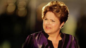 Президент Бразилии Дилма Русеф . Архивное фото
