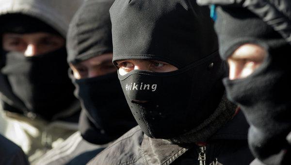 Активисты Правого сектора, архивное фото