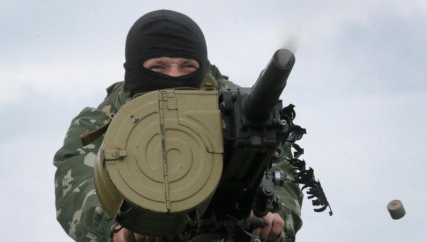 """ДНР: захваченные огнеметы """"Шмель"""" были брошены украинской армией"""
