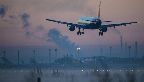 Аэропорт Толмачево в Новосибирске. Архивное фото.