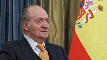 Король Испании Хуан Карлос I. Архивное фото