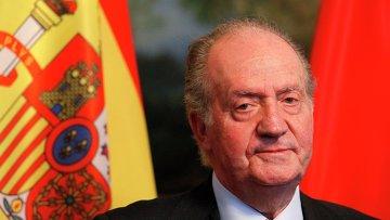 Король Испании Хуан Карлос I