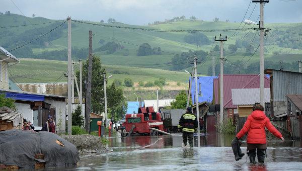 Последствия паводка в Республике Алтай
