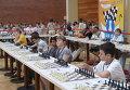 """Участники шахматного турнира среди школьников """"Белая ладья"""""""