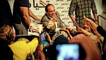 Абдель Фаттах ас-Сиси. Архивное фото