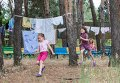 """Дети из Славянска в детском лагере """"Прометей"""", Харьковская область, Украина"""