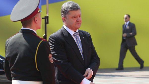Инаугурация Петра Порошенко в Киеве