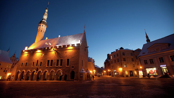 Исторический центр Таллина. Архивное фото