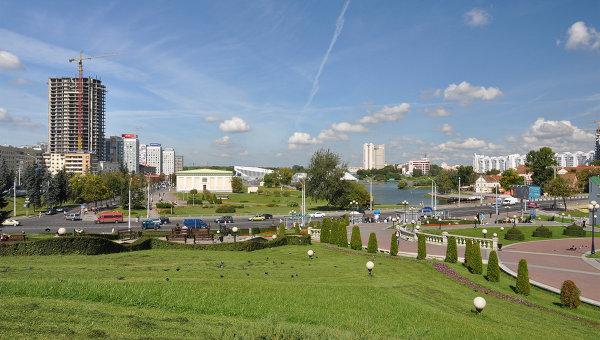 Город Минск. Белорусия