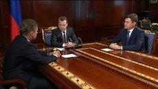 Медведев и Миллер назвали шантажом позицию Киева по газу