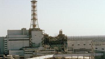 Чернобыльская АЭС, архивное фото