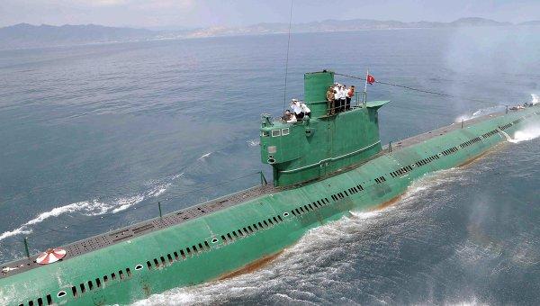 Подводная лодка КНДР. Архивное фото