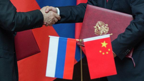 Владимир Путин и Си Цзиньпин на церемонии подписания  документов по результатам российско-китайских переговоров