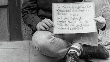 Безработный в Штутгарте