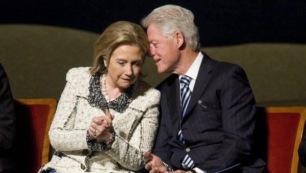 Билл и Хиллари Клинтон. Архивное фото