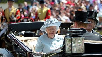 Британская королева Елизавета Вторая. Архивное фото