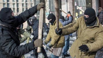 Активисты Майдана в Киеве, архивное фото