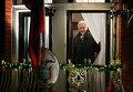 Основатель WikiLeaks Джулиан Ассанж в посольстве Эквадора