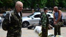 Пленный военнослужащий украинской армии. Архивное фото