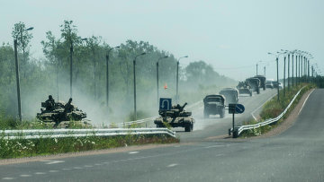 Военная техника украинской армии в Донецкой области. Архивное фото