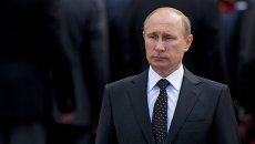 Президент России Владимир Путин, 22 июня 2014