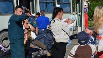 Беженцы с Украины в Севастополе