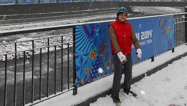 Виктор на Олимпиаде 2014 в Сочи