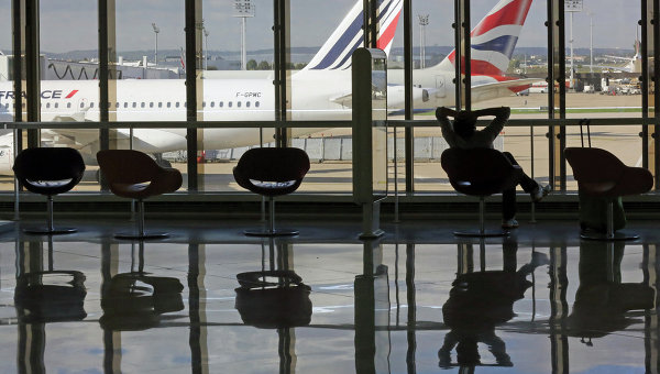 Терминал парижского аэропорта Орли