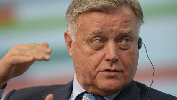Президент ОАО Российские железные дороги Владимир Якунин. Архивное фот о