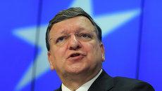 Председатель ЕК Жозе Мануэл Баррозу. Архивное фото