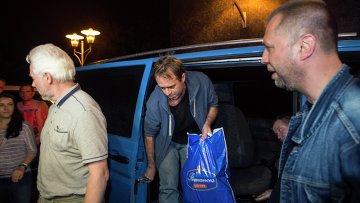 Освобождение наблюдателей ОБСЕ, задержанных на юго-востоке Украины