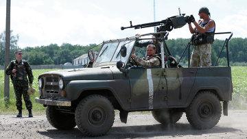 Бойцы Национальной гвардии Украины. Архивное фото.