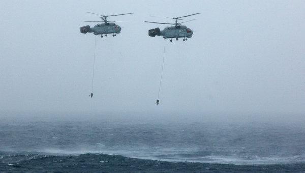 Противолодочные вертолеты Ка-27. Архивное фото