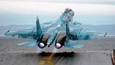 На борту тяжелого авианесущего крейсера Адмирал флота Советского Союза Н.Г. Кузнецов