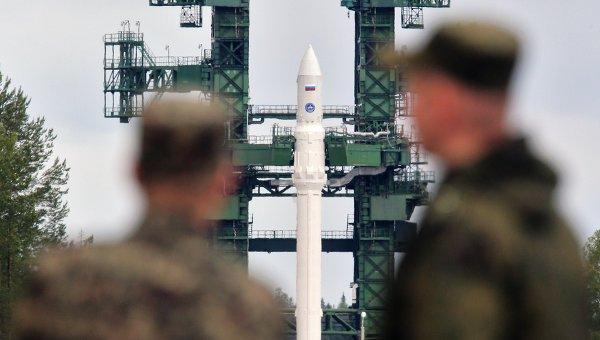 Автоотмена запуска ракеты Ангара