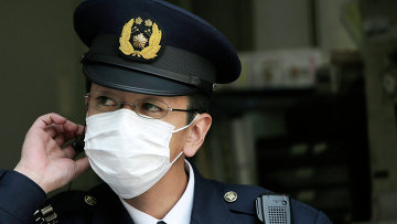 Японский полицейский. Архивное фото