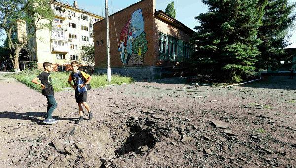 Последствия удара по Краматорску. Архивное фото