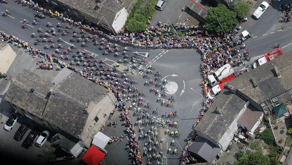 Велогонка Тур де Франс. Архивное фото
