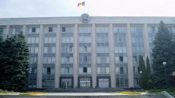 Здание правительства Молдавии. Архивное фото