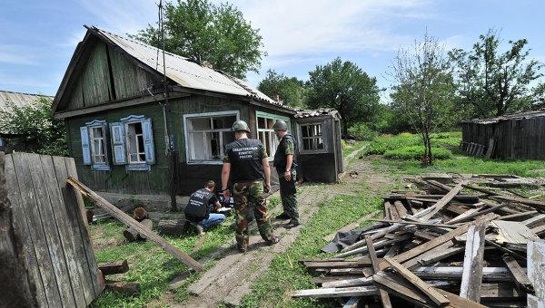 Город Донецк Ростовской области со стороны Украины был обстрелян фугасными снарядами