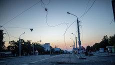 Последствия обстрела Луганска. Архивное фото