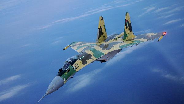 Российский многоцелевой истребитель Су-35. Архивное фото