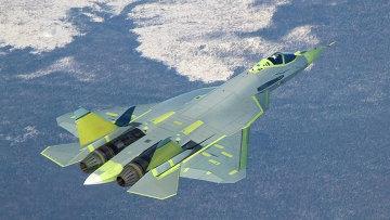 Самолет Т-50 ПАК ФА (Перспективный авиационный комплекс фронтовой авиации). Архивное фото