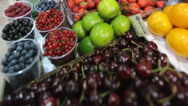 В отделе фруктов
