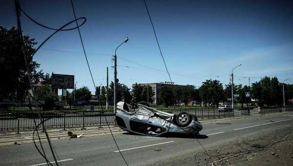 Ситуация в Луганске. Архивное фото.