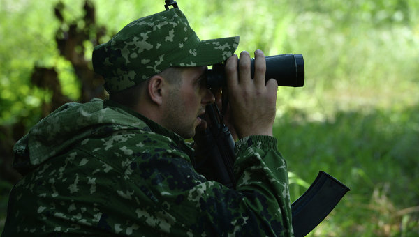 Ситуация на востоке Украины. Архивное фото