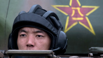 Китайский военный. Архивное фото