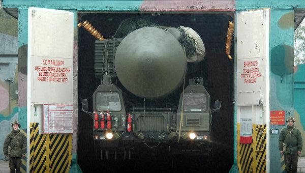 Мобильный ракетный комплекс РС-24 Ярс. Архивное фото