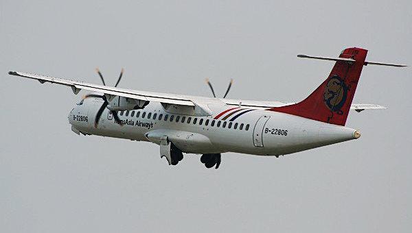 Самолет ATR-72 компании TransAsia Airways. Архивное фото