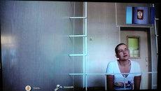 Заседание суда по делу Надежды Савченко, подозреваемой в пособничестве в убийстве российских журналистов